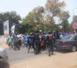PIU Officers Intercepting Peaceful Protesters