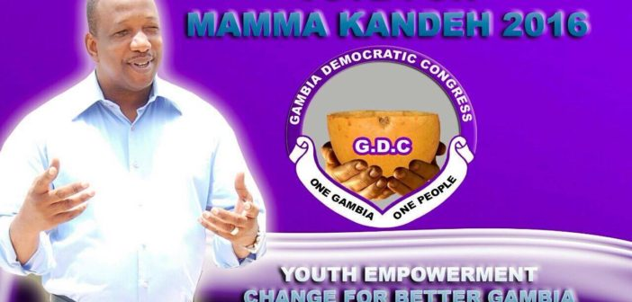 What concerns me about the Rise of Mamma Kandeh and the GDC?