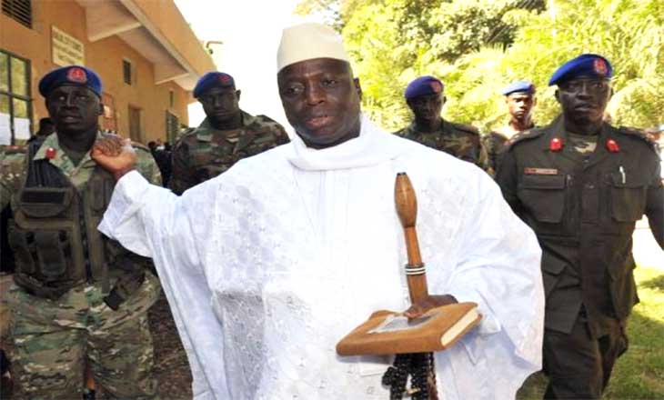 Image result for Yahya Jammeh's Application