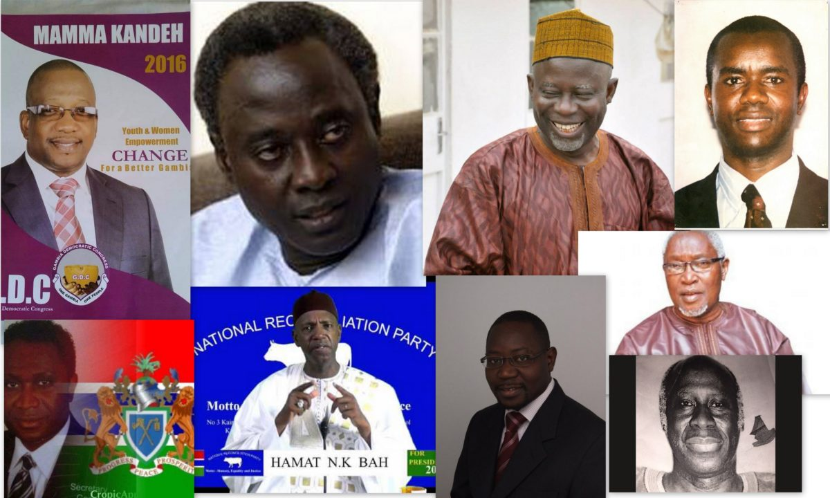 Gambia Hope For A Desperate Nation As Opposition Coalition Talks Intensifies Leaving little or no hope; opposition coalition talks intensifies