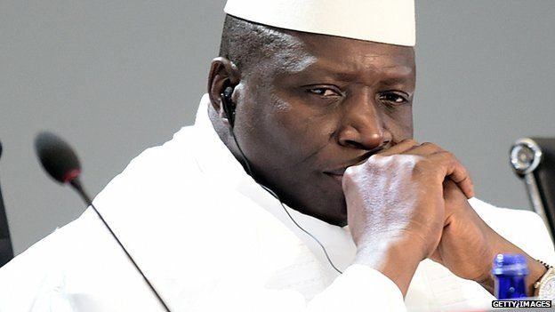 Image result for President Yahya Jammeh