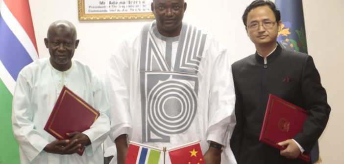 Press Statement: The Gambia and China Sign $50 Million Grantto Build International Conference Center