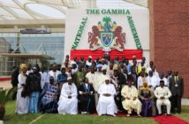 President Barrow with the Members of the National Assembly