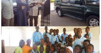 Big Dreams Inc. USA donates vehicle to Gambia chapter