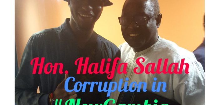 Hon Halifa Sallah: Preventing a Re-occurrence of Corruption in The Gambia