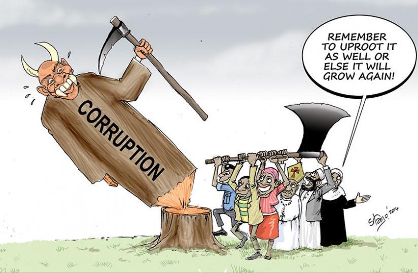 Op-ed: Corruption a Menace Worth Fighting Says Omar Kolley