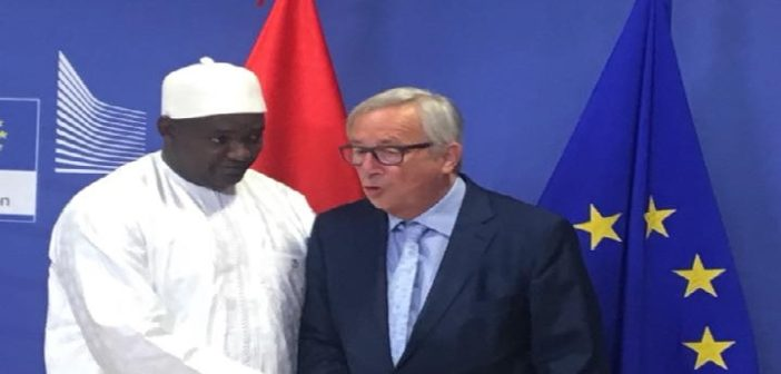 Press Statement: President Barrow mobilises €1.45 Billion in Brussels