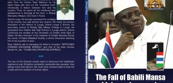 A New Book: The fall of Babili Mansa Yaya Jammeh – Africa endangered by dictatorshipsFirst preface.