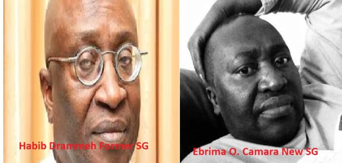 Mr Habib Drammeh relieved as Secretary General and Head of the Civil Service