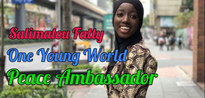 SALIMATOU FATTY RECOGNISED AS LEADING YOUNG PEACEBUILDER BY EU COMMISSION