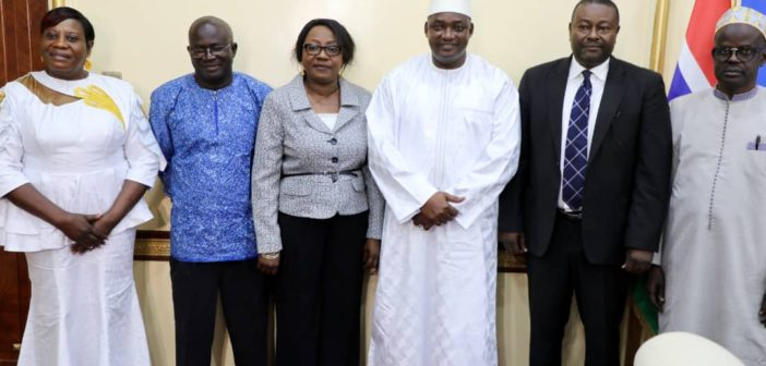 President Barrow pledges to safeguard the autonomy of the new Human Rights Commission
