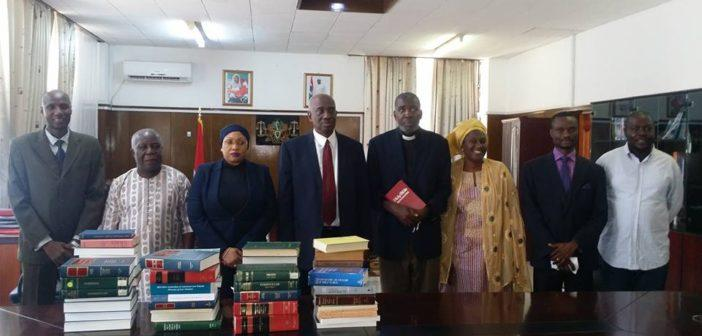 Gambian Law Faculty receives book donations from Dr. Loum