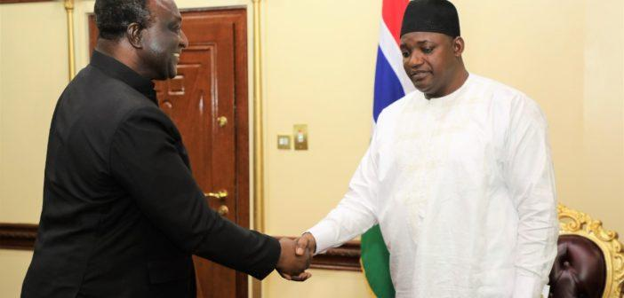 Ghana seeks Gambia's support to host Africa Free Trade Area Secretariat