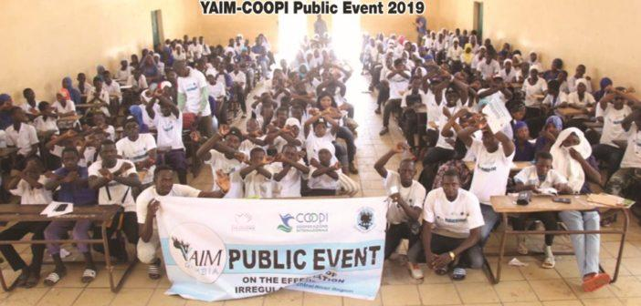 YAIM Sensitize Students of NBR and CRR on Effects of Irregular Migration