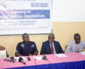 GPU begins training on investigative reporting for 20 journalists