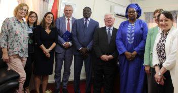 EU Delegation and Foreign Affairs Ministry