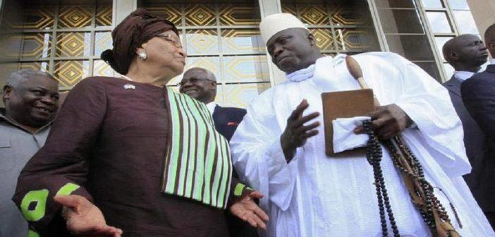 2017 MIF Laureate and former President Jammeh