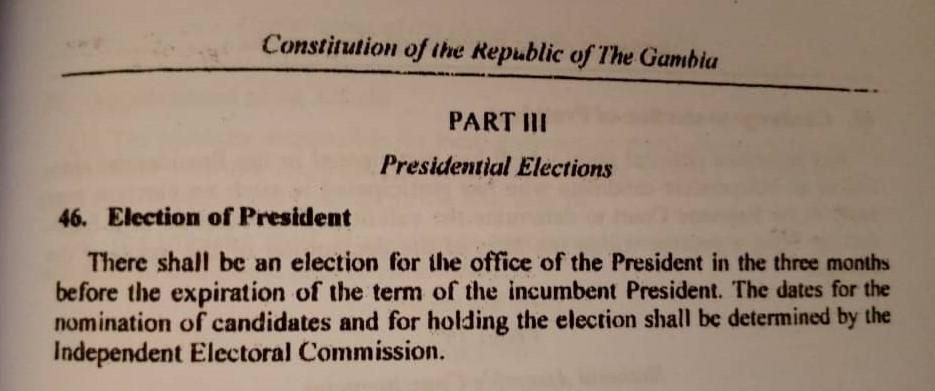 1997 Constitution Clause 46