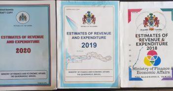 2018, 2019 & 2020 Estimates of Revenue & Expenditure