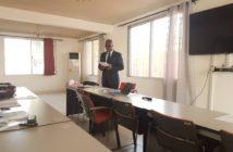 Adviser Sarr moderating the workshop