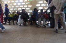 Patients seeking medical support at Serrekunda General Hospital