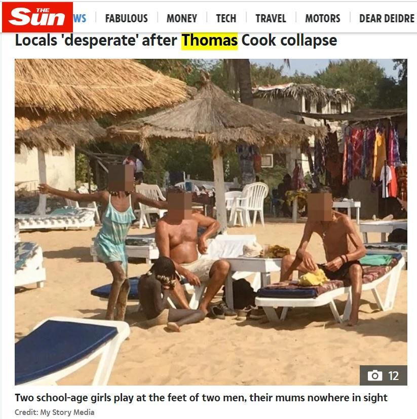"Sun Paper Article ""Inside Paedo Paradise"""