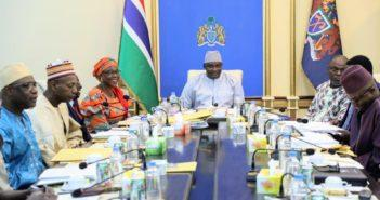 President Barrow Cabinet Meeting Covid 19