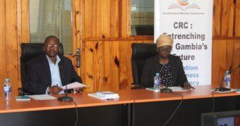 CRC 2020 Draft Constitution Press Conference