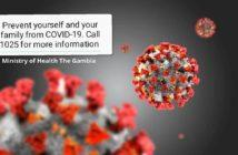 Covid 19 Virus MoH Notice