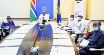 President Barrow Cabinet ECO Meeting