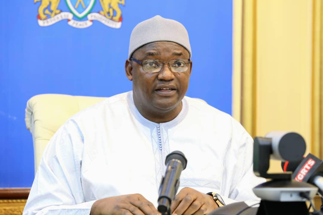 President Barrow ECO Meeting
