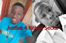 Kebba Secka, killed by Police Officers