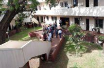 Kebba Secka Murder Suspects walking into Banjul High Court
