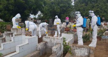 Red Cross the Gambia Burial Team