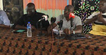 Sheriff Mohammend Kijera in grey