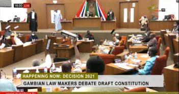NAMs voting in the Second Reading of Constitution Bill 2020
