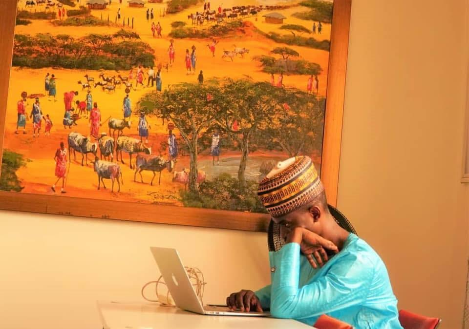 Marr Nyang - Exec Director of Gambia Participates