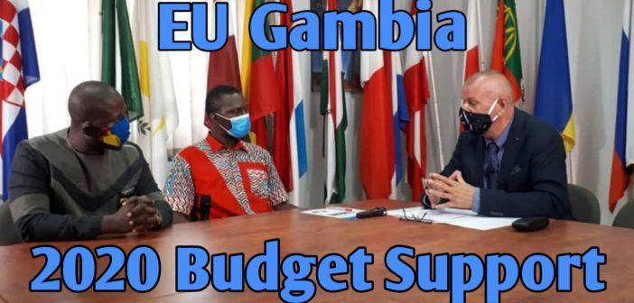 EU Ambassador and Gainako