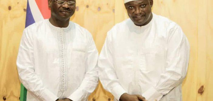 Seedy Keita sworn in as Minister of Trade Industry, Regional Integration and Employment