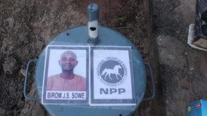 NPP Candidate Mr Birom J. S. Sowe
