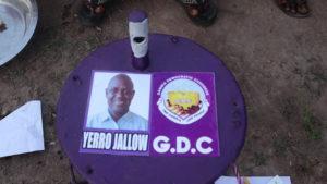 GDC Candidate, Mr Yerro Jallow