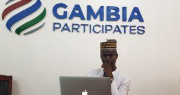 Marr Nyang, Gambia Participates (c) Yusef Taylor