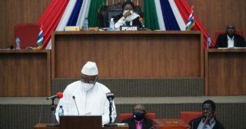 MoFEA, Hon Mambury Njie at 2021 Budget Speech
