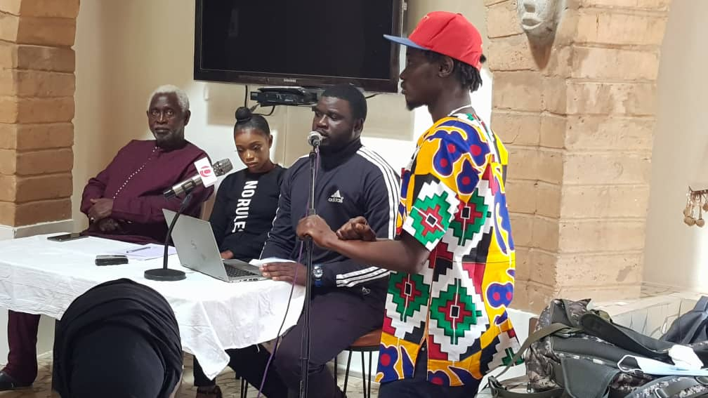Gambia Music Union PC - Pa Modou Sarr on Mic