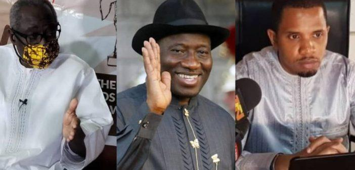 Hon Sallah, Former President Goodluck and Dr Ismaila Ceesay