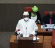 Finance Minister Mambury Njie at 2021 Budget Speech