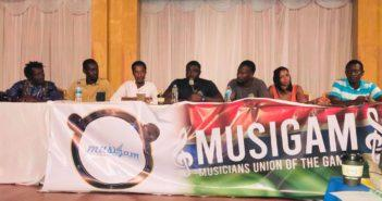 Killa Ace and others Elected at Gambia Music Union Congress