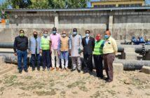 Indian Delegates Visit NAWEC Water Project