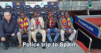 Police trip to Spain, November 2018