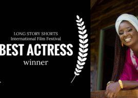 Gambian, Mariama Colley Wins Best Actress in International Film Festival